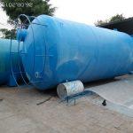 Pembuatan FRP Cylinder Tank
