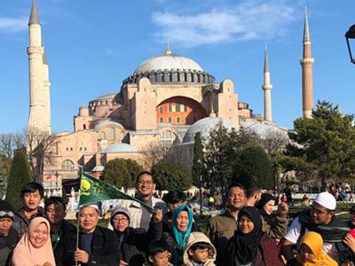 Umroh Plus Turki Oktober
